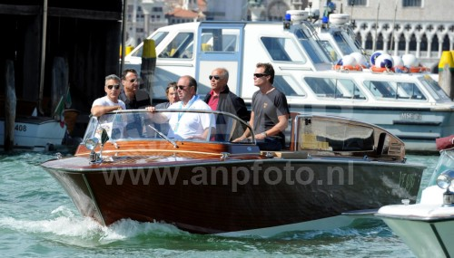 George Clooney arrives in Venice 24414931