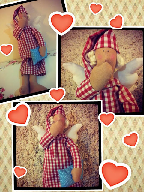 Tilda Good Night Angel doll