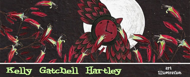 Kelly Gatchell Hartley: art & illustration