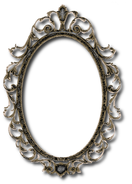 Zoom dise o y fotografia espejo vintage clipart png for Espejos de pared vintage