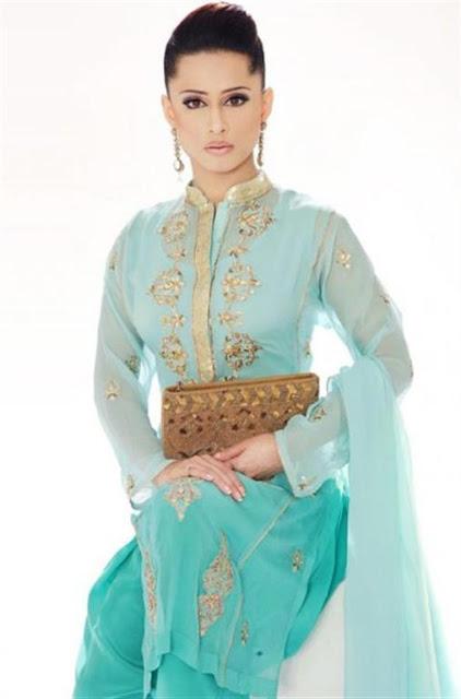 Pakistani bridal Shalwaar Kameez 2012