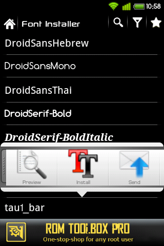download ttf fonts for android