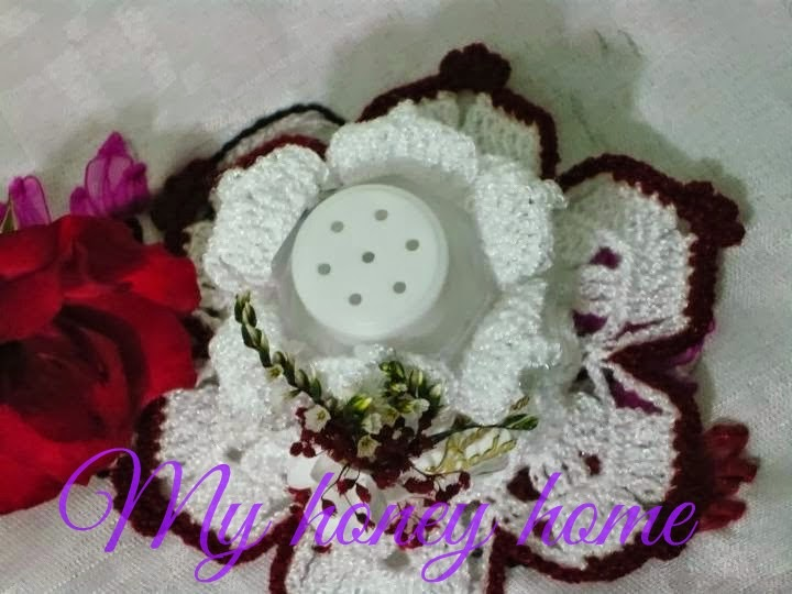 SALEROS Y SERVILLETEROS A CROCHET | ~Honey home