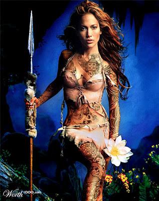 Jennifer Lopez Tattoos on Jennifer Lopez Tattoos Jpg