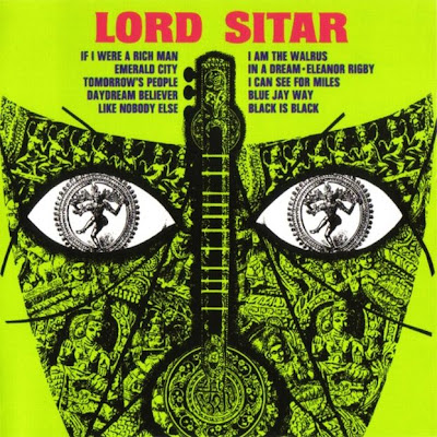 Lord Sitar - Lord Sitar 1968 (UK, Lounge, Raga Rock)