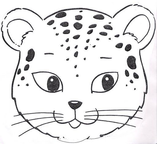 Puma animal para colorear - Imagui