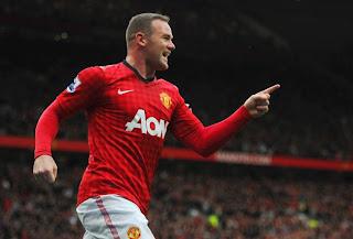 Wayne Rooney happy
