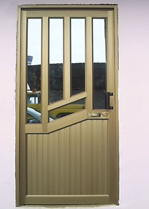 Carpiter a de aluminio pablo rodr guez puertas for Puertas interiores de aluminio y cristal