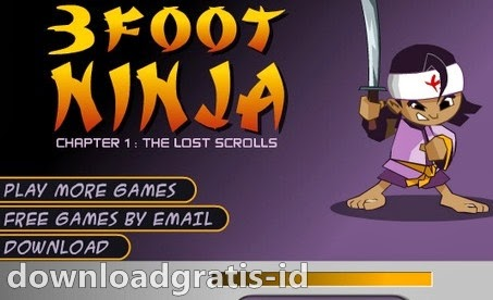 Game Aksi Ninja - 3 Foot Ninja