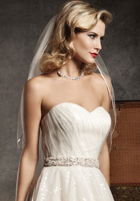 Short Wedding Hairstyles 2012