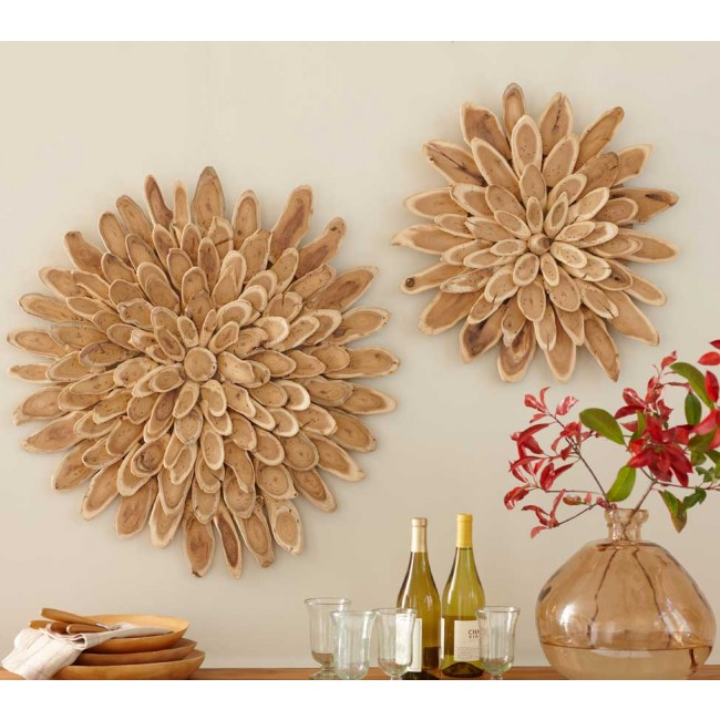 Wood Slice Wall Art