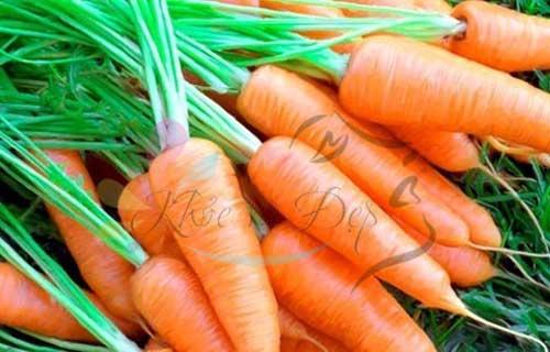 Cách làm trắng da bằng cà rốt tại nhà