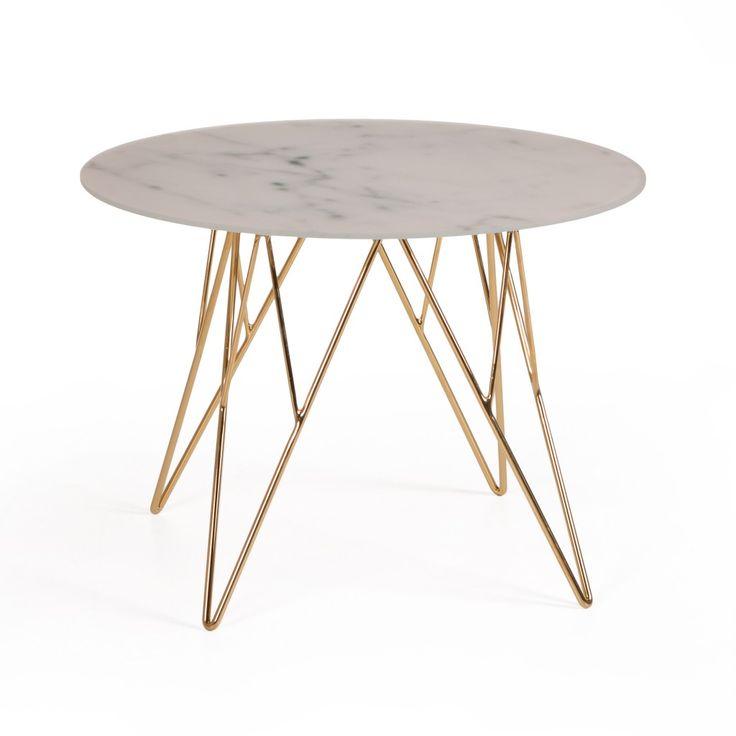 plateau table marbre table ronde cafe de paris u plateau marbre avec bec de corbin pitement fer. Black Bedroom Furniture Sets. Home Design Ideas