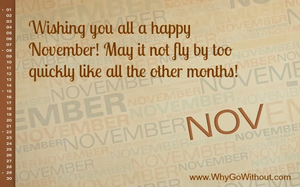 November 30 days of gratitude; what I am thankful for today and each day throughout the month!