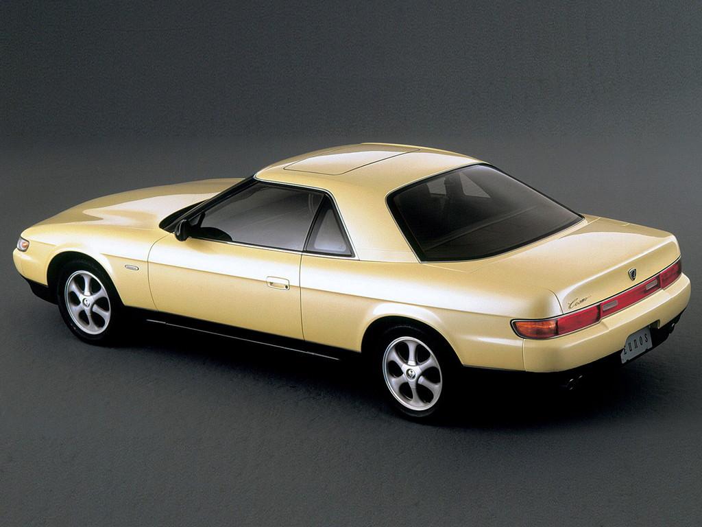 Mazda Eunos Cosmo JC 日本車 マツダ japoński sportowy samochód wankel twin turbo 13B 20B coupe