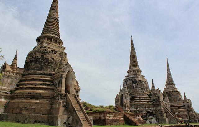 ruinas Ayutthaya