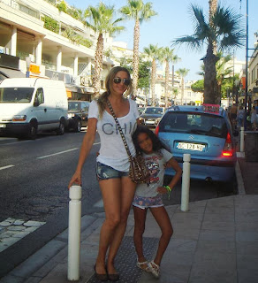 Gina Heisser walks by a Daisy Duke in Sainte Maxime