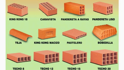 Tipos de ladrillos armando iachini ladrillos with tipos - Tipos de ladrillos ...