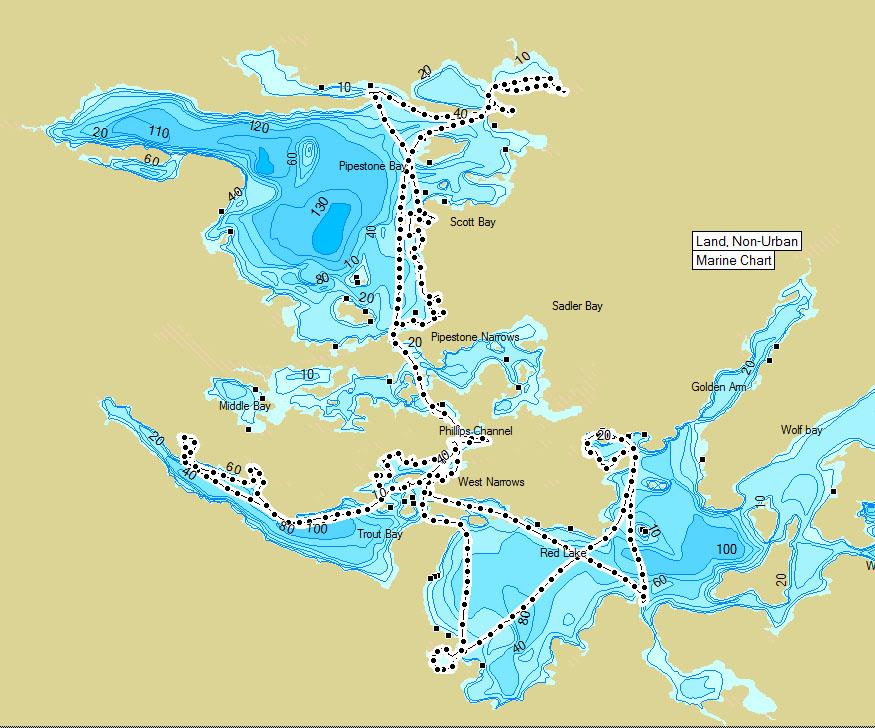 Bow Narrows Camp Blog On Red Lake Ontario Geotagging Puts Anglers - Ontario fishing lakes maps