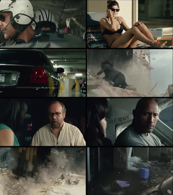 San Andreas 2015 HDRip Dual Audio Hindi 720p