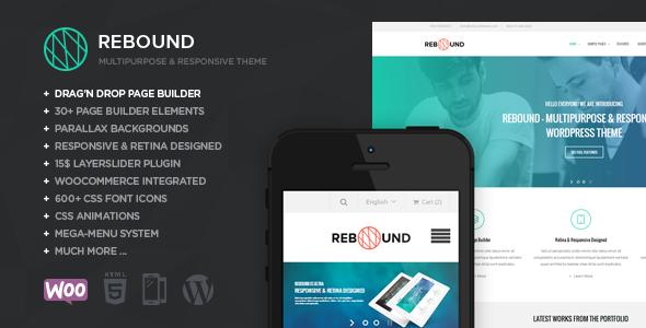 Rebound v.1.3 – Responsive Multipurpose Retina Theme