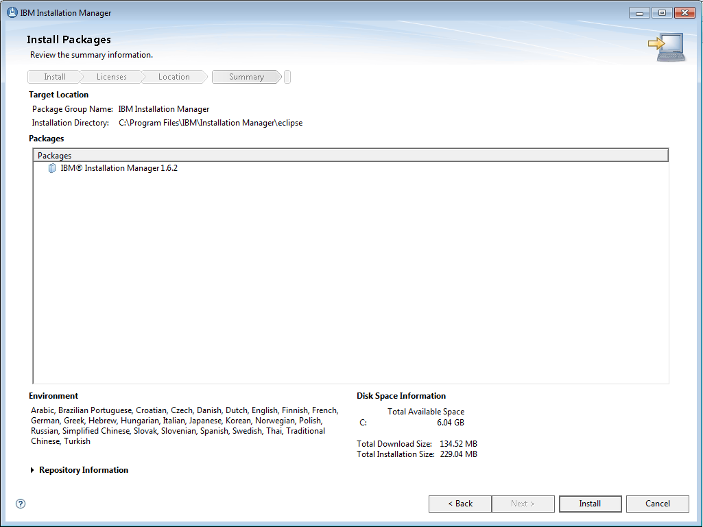 Akhilesh's Blog: Installation of IMB Installation Manager
