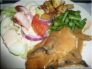 chicken marsala at Ruby's of the avenue in Lakeland, Florida