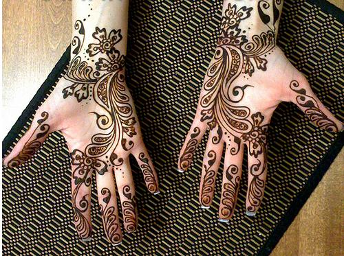 Mehndi Flower Image : Funn every beautiful mehndi flower designs hands latest