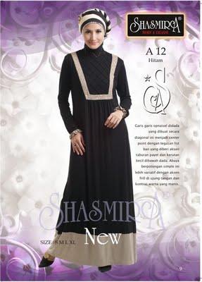 Busana Muslim Shasmira A12 Hitam