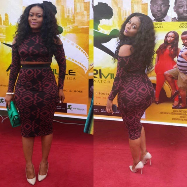 Didi Ekanem's Sexy Outfit to an Event Yesterday