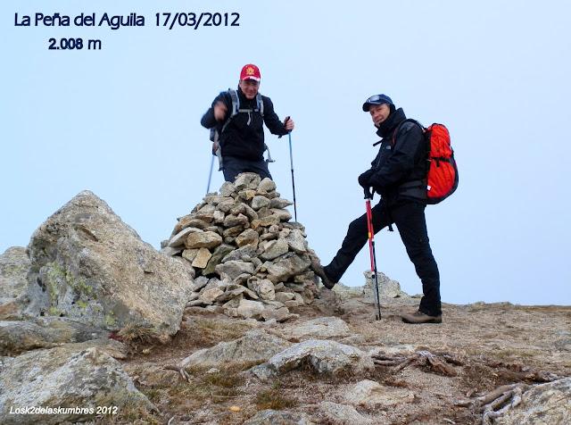 Cumbre Peña el Aguila, Cercedilla
