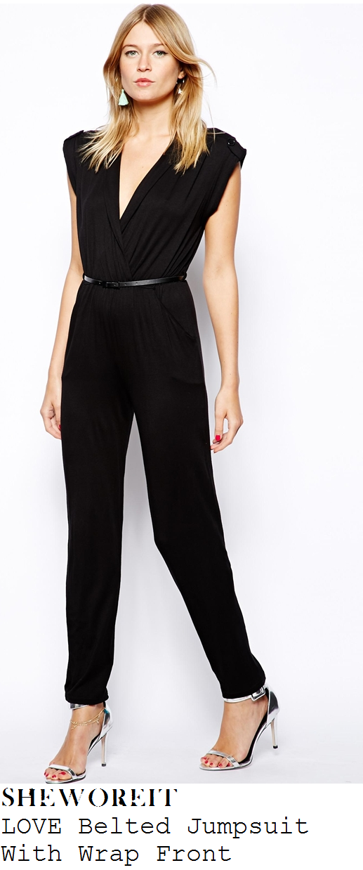 billie-faiers-black-cap-sleeve-v-neck-wrap-front-belted-jumpsuit