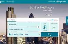 MSN Viajes y SkyScanner se asocian para facilitar la búsqueda de vuelos baratos online
