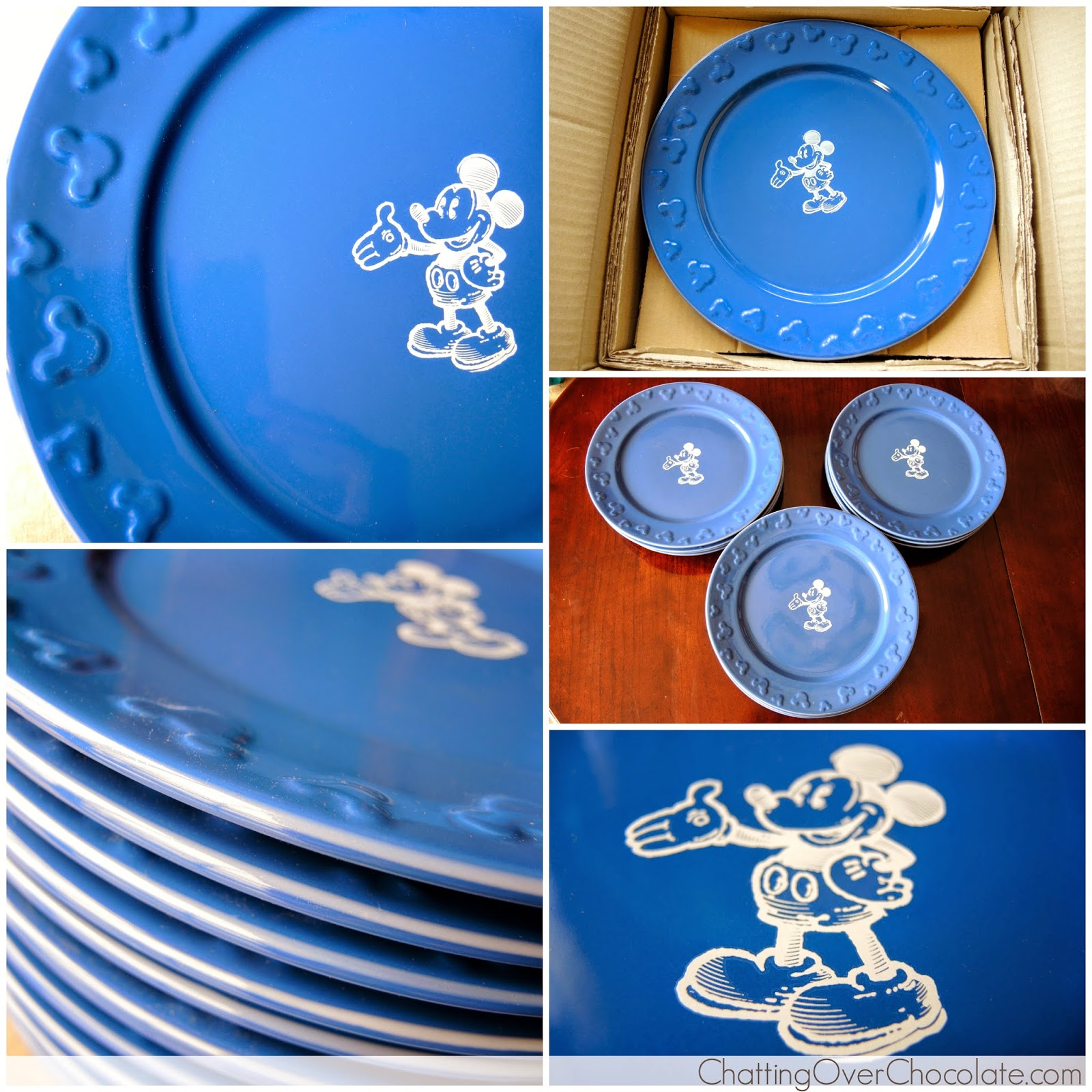 Gourmet Mickey Mouse Dinner Plate Set  sc 1 st  Chatting Over Chocolate & Chatting Over Chocolate: Disney Store Haul!