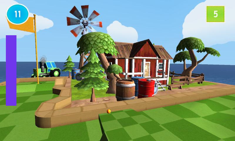 cartoon mini golf games 2 in 3D