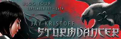 stormdancer jay kristoff blog tour giveaway