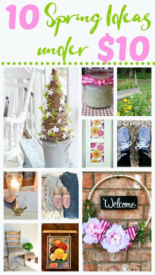 10 Spring Ideas Under $10!