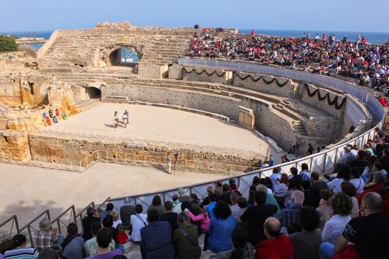 El Anfiteatro romano de Tarragona