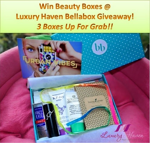 Bellabox September Urban Vibes Beauty Boxes Giveaway!
