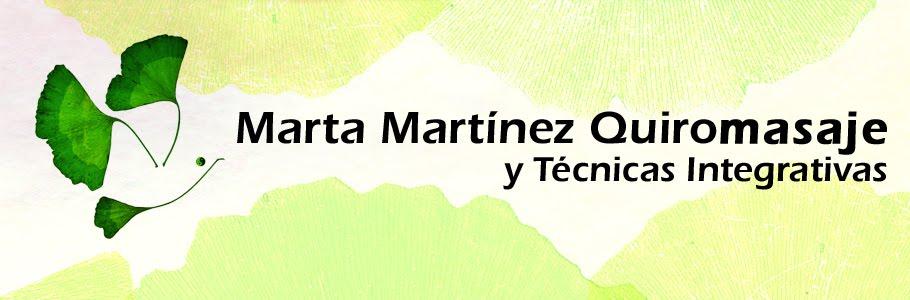 Marta Martínez Quiromasaje