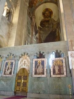 Catedral de Svetitskhoveli. Interior