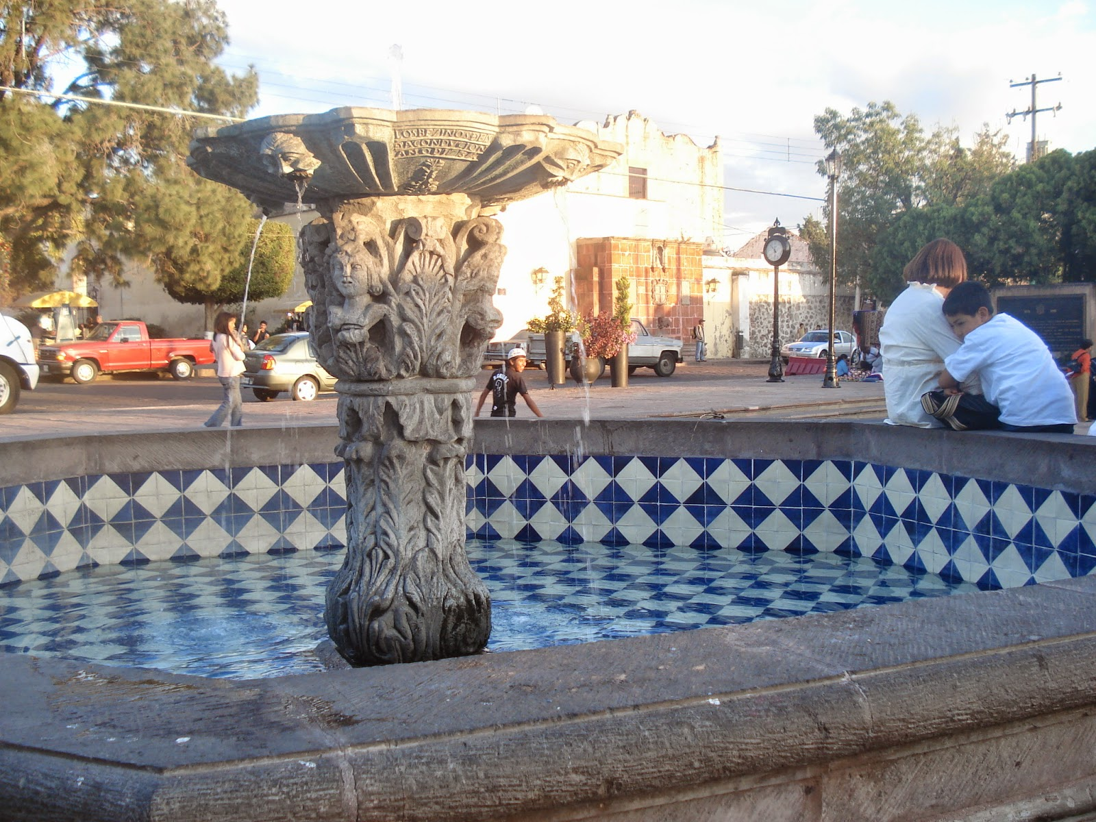 The next step was to create a network to bring fresh water to the access of every household in queretaro the solution was the creation of many public