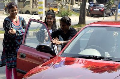 Hyderabad traffic police crack down on use of dark film tints