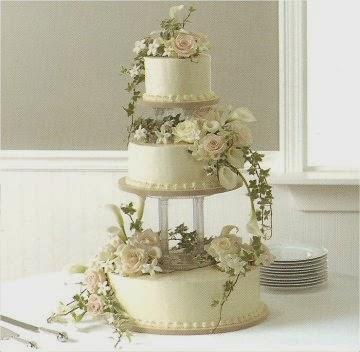 Wedding Cake Flowers Decorations