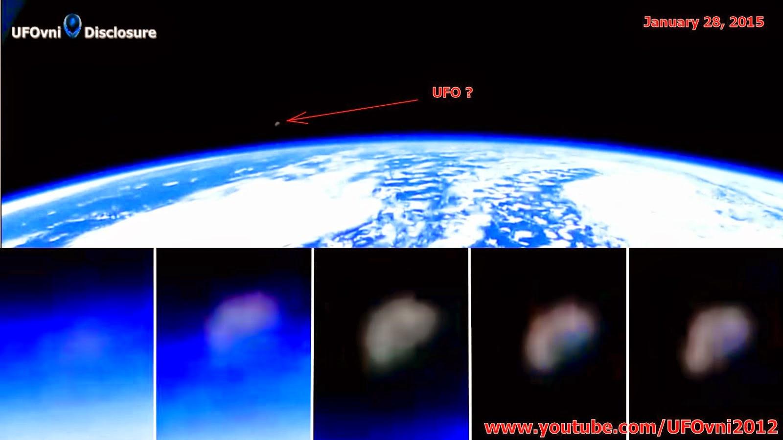 ENCORE! NASA coupe la transmission de webcams en direct lors OVNI quitte la Terre, le 28 Janvier 20