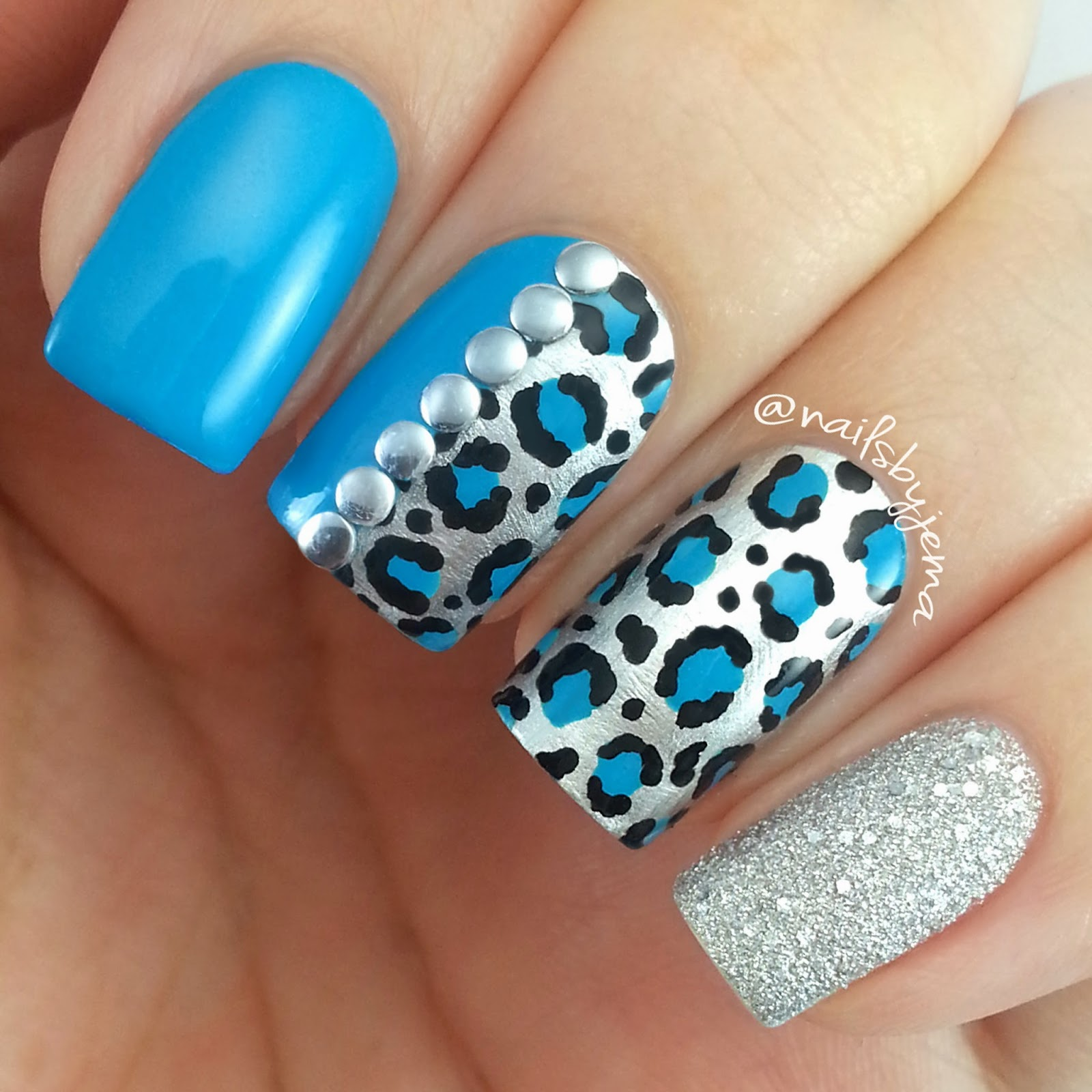 Are You A Leopard Print Fan Or Like Me Obsessed With Texture Liquid Sand Effect Feature Nails