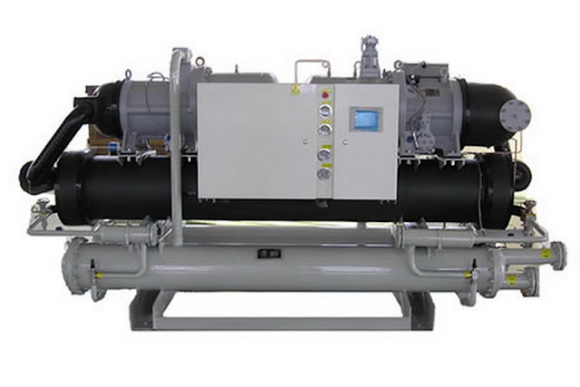sửa chữa hệ thống Điều hòa Chiller watter