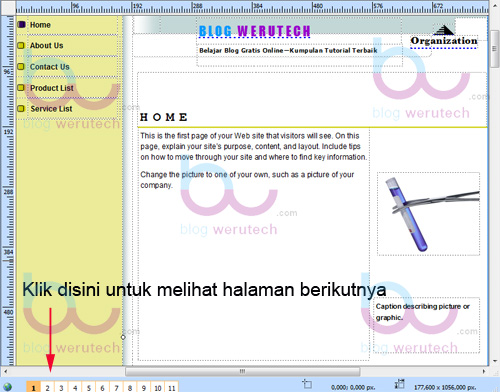 Desain Template Dengan Microsoft Publisher