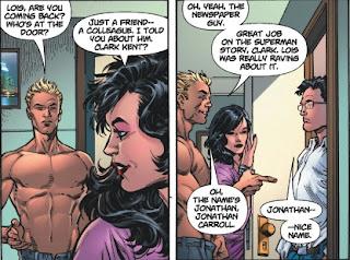 Jonathan Carroll from Superman #1