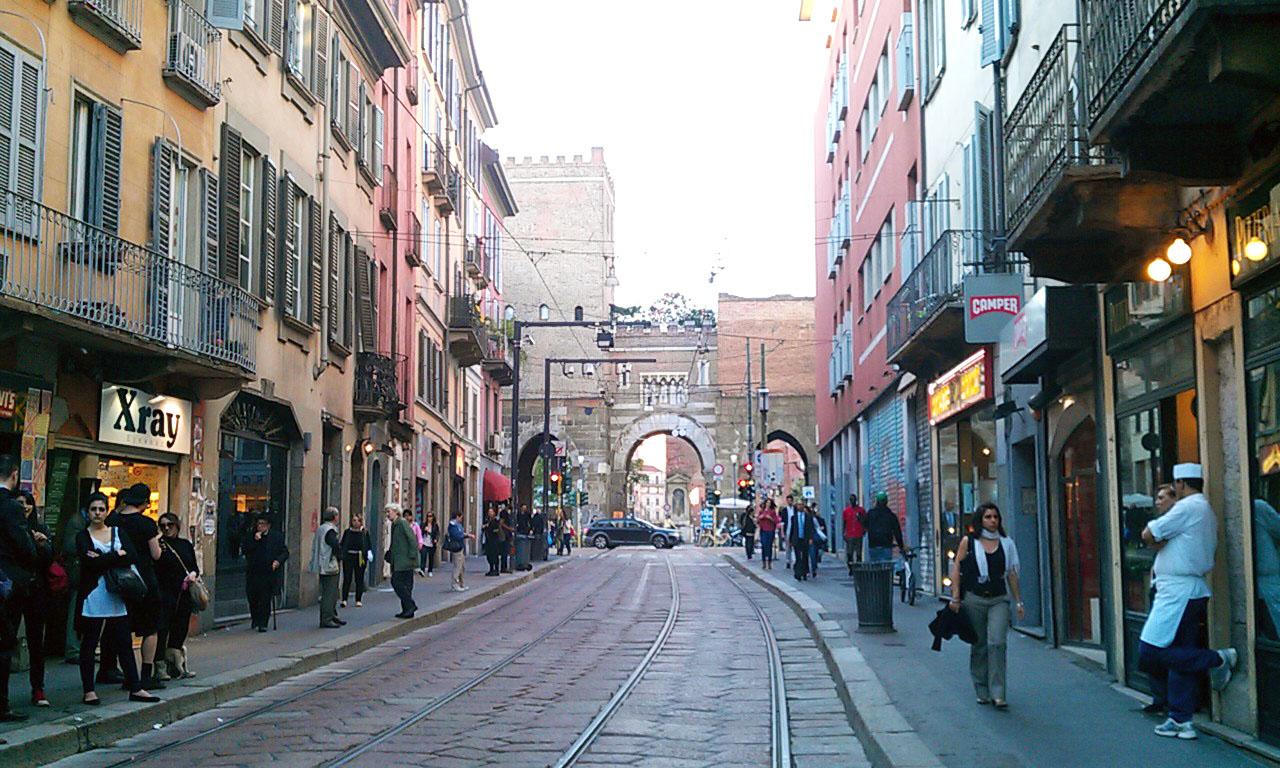 Running routes milan navigli running route for Milano shop